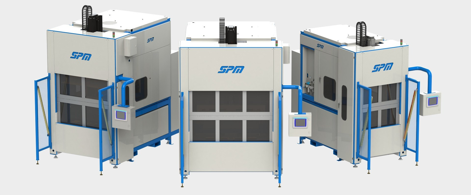 SPM Standard Plastic Welding Machine Family
